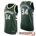 Camiseta Giannis Antetokounmpo Milwaukee Bucks Icon
