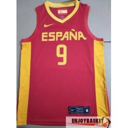 Camiseta Ricky Rubio Seleccion Española Mundial Baloncesto 2019