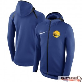 Golden State Warriors Nike Showtime Therma Flex Performance Full-Zip Hoodie