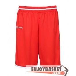 Pantalones Spalding Move Shorts Kids Rojos