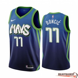 Camiseta Luka Doncic Dallas Mavericks City Edition