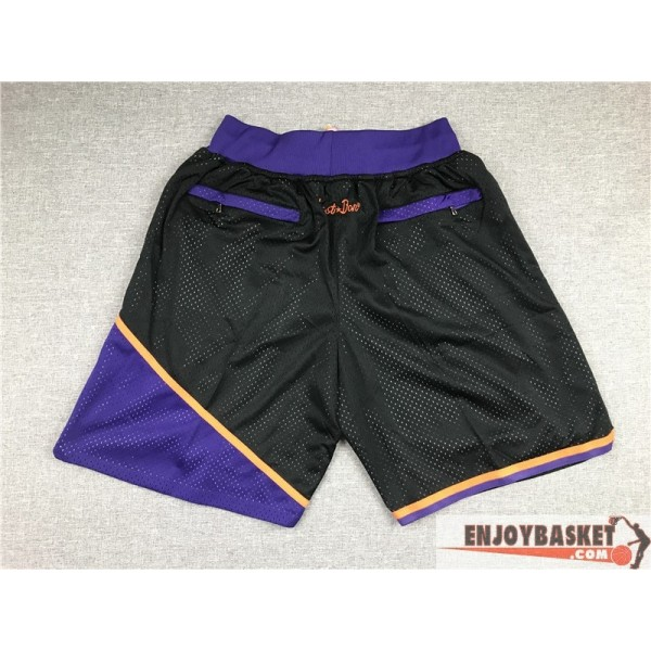 Pantalones Nba Retro Phoenix Suns Negros