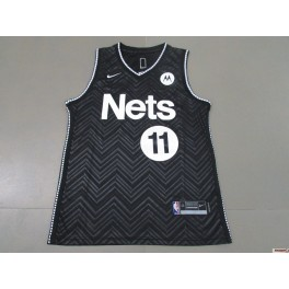 Camiseta Kyrie Irving Brooklyn Nets Black Away