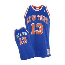 Camiseta Mark Jackson New York Knicks Azul