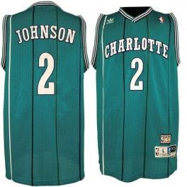 Camiseta Larry Johnson Charlotte Hornets Azul