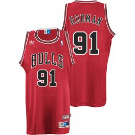Camiseta Dennis Rodman Chicago Bulls Roja