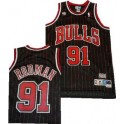 Camiseta Dennis Rodman Chicago Bulls Negra